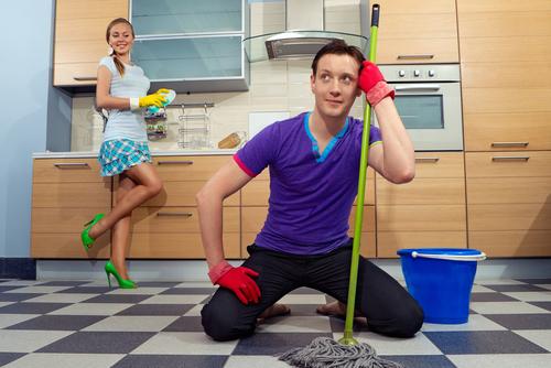 女子待機室清掃へのこだわり
