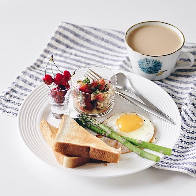 朝ごはんに時間を掛けられるから身体の調子も整う