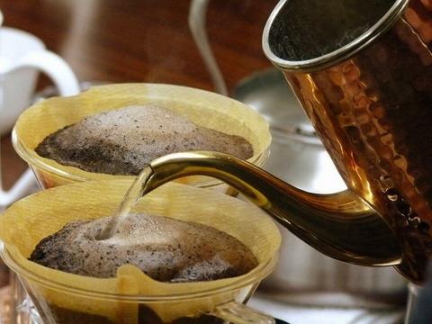 毎朝仕事前に飲むコーヒー